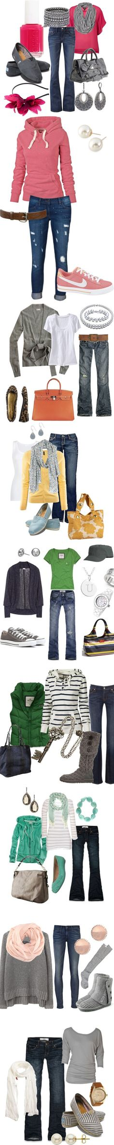 26 Fall Fashions - wonderful sets put together ~ Love em!