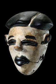 "curiousmiscellanies: ""Yoruba Ogboni Elu Mask, Nigeria """