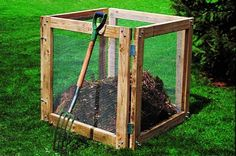 Affordable And Easy To Make DIY Compost Bins 9
