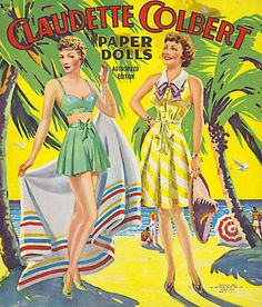 vintage paper dolls movie stars - paper dolls were girls, boys, men, women, and animals and the you just used your imagination when you played with them, and most of us took care of them so tabs wouldn't get torn or dolls bent, I kept min in shoe boxes