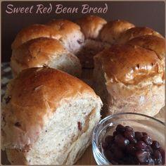 My Mind Patch: Sweet Red Bean Bread 蜜红豆面包