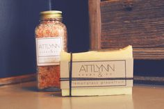 Spa Gift Set Soap Gift Set Bath Salts All by AttlynnSoapsAndCo