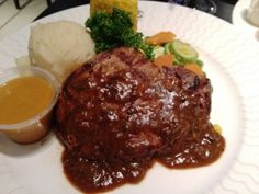 Pepper Steak with mashed potato @Coco's Restaurant, DCC
