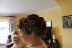 Bridesmaids style by maria platinumhairdressing.ie