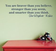 Braver Stronger and Smarter Wall Decal