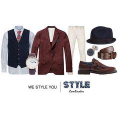 Blazer #scotchandsoda €150 -> ScotchAndSoda Overhemd #jackandjones €49,95 -> Jack&Jones Gilet #suitsupply €129 -> SuitsSupply Broek #wefashion €49,98 -> WeFashion Schoenen #massimodutti €135 -> MassimoDutti Horloge #antonimanuel €199,26 AntoniManuel Hoed #hm €10 -> H&M Stropdas #thetiebar $19 -> TheTieBar Pochet #thetiebar $10 -> TheTieBar Riem #joop €59,95 -> Zalando Manchetknopen #hugoboss €64,95 -> HugoBoss  #stylecombinator #fashion #style #look #outfit #outfitoftheday #suit