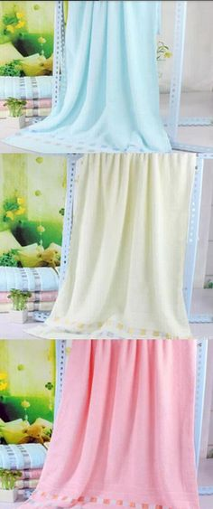Style: Fashion Material: superfine fiber fabric Process: manual production Weight: 160g Color: yellow, brown, blue and purple. Dimensions (1 cm): 70 * 140