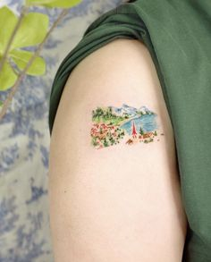Little Tattoos, Cute Tattoos, Tatoos, I Tattoo, Tatting, Hair Beauty, Chaotic Neutral, Watercolor Tattoos, Awesome Bedrooms