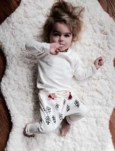 Cozy organic outfit for kids #maluorganic