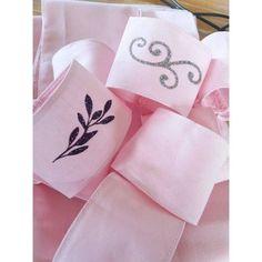 Rond de Serviette en cotton avec ou sans personnalisation -  Création Francaise - Décoration de Mariage & jolis évènements