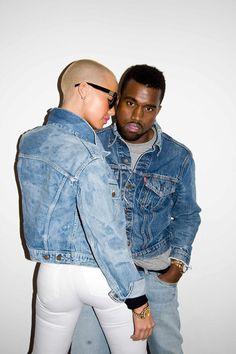 Amber Rose & Kanye West