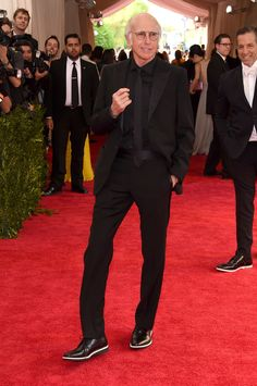 Larry David - All black always looks good