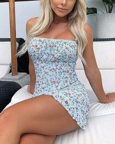 Chic Me: Women's Fashion Online Shopping Mode Outfits, Skirt Outfits, Sexy Outfits, Sexy Dresses, Fashion Outfits, Style Fashion, Girly Outfits, Mini Dresses, Pretty Outfits