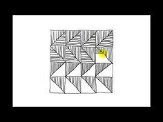 Zentangle Patterns | Tangle Patterns? - Chard - YouTube