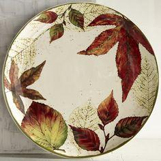 Asheville Leaves Dinner Plate