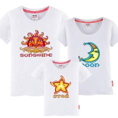 Statue of karaoke children's summer loaded a family of three short-sleeved T-shirt cotton tide new beach dress large size mother and daughter 2017 High quality can not afford the ball does not fade Mother Daughter Dresses Matching, Matching Outfits, Karaoke, Statue, Sweatshirts, Beach, Summer, T Shirt, Cotton