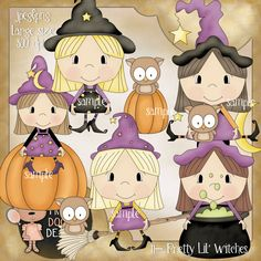 11- Pretty Lil' Witches $1