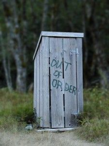 When You Gotta Go: Sanitation in the Great Outdoors --Posted July 27, 2014