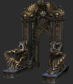 ArtStation - Castlevania: Lords of Shadow 1, Jose Grandal