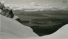 Vista del Refugio López, Bariloche, Autor: Godofredo Kaltschmidt, Ca. 1935 (Colección Hartung en Archivo Visual Patagónico)