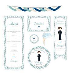 creatura: Recordatorio personalizado para una Comunión y gráfica para la mesa dulce de niño