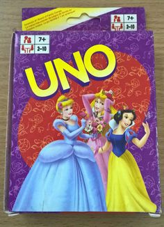 Disney's Princess Cinderella Snow White UNO Game Card Collection Cards Aus Stock