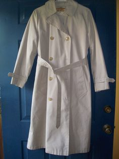 Classic vintage Misty Harbor 1970's trench coat by YoNeato on Etsy