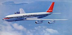 Northwest Airlines History Center – Some people just know how to fly! Boeing 707, Boeing Aircraft, Republic Airlines, Northwest Airlines, Commercial Aircraft, Air Travel, North West, Aviation, Planes