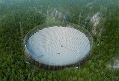 500-metrowy radioteleskop FAST w Chinach już działa