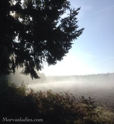 October morning, Morvan