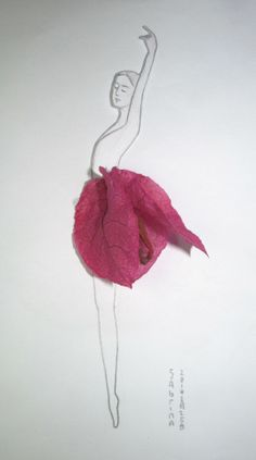 a flower skirt