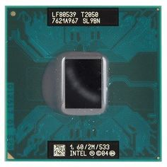 1.60GHz Intel Core DUO Mobile T2050 2MB LF80539GE0252M by Intel. $4.14. Intel Core Duo T2050 (SL9BN)1.6GHz 2M 533MHz Socket M OEM Laptop Mobile Processor (LF80539GE0252M)