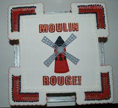 Moulin Rouge Royal Iced Cake