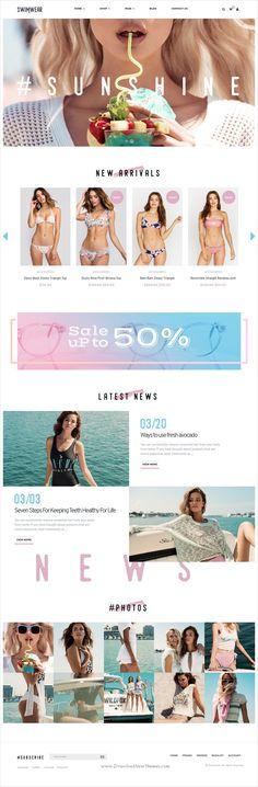 Modesto - Power Unique Portfolio, Photography & Agency HTML Template ...