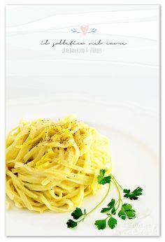 tagliolini al limone Italian Pasta Recipes Authentic, Italian Recipes, Spaghetti, Cooking, Ethnic Recipes, Blog, Kitchen, Blogging, Noodle