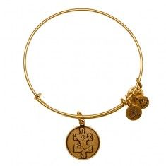 Piece of the Puzzle Charm Bangle Autism bracelet for Tisa