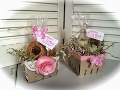 Laura's Creative Moments: BERRY BASKETS (STAMPIN' UP!)