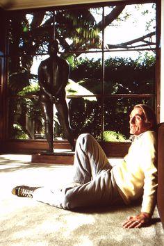 Rod McKuen Mansion 007d; 1986-10-01 Rod McKuen photoshoot slide 12