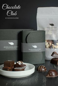 Give a membership to our Artisan Chocolate Club for the holidays, as a thank-you gift, or birthday. Chocolate Club, Artisan Chocolate, Chocolate Lovers, Chocolate Clusters, Chocolate Boutique, Butter Toffee, Subscription Gifts, Client Gifts, Chocolate Packaging