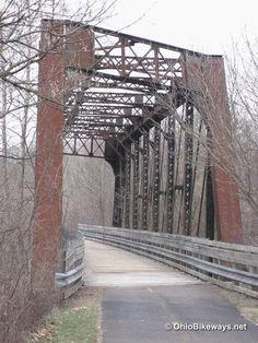 my bike trail back home in bellville ohio.