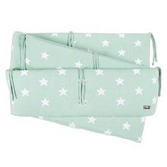 Boxbumper Star mint/wit