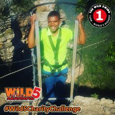 Over the past two weeks Michelle Cilliers and Precious Gumede both hailing from the South Coast Fever, completed the Wild 5 Charity Challenge. Both ladies thoroughly enjoyed their experiences by braving the #WildSwing, their newspaper branch has invited Siphelele Nkete from Media24's East Griqualand Fever to take a leap of courage for charity. Newspaper, Charity, Brave, The Past, Coast, Take That, Challenges, Activities, Adventure