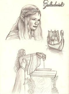 Galadriel  by Wild-Huntress