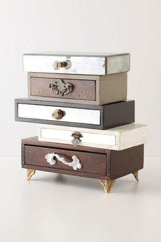 Drawer Repurpose Vanity Storage..