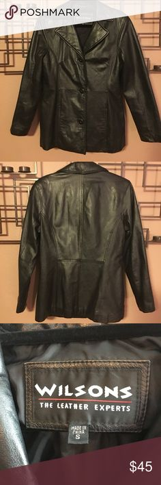Leather jacket Wilsons leather jacket in good condition. Wilsons Leather Jackets & Coats