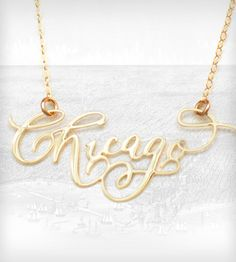 Chicago Necklace - Gold