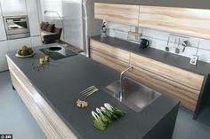 ilot de cuisine en bois- naturel et tendance