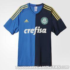 Terceira camisa adidas do Palmeiras 2016-17 Palmeiras 2016 94539e95714bc