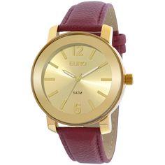 Relógio Euro Feminino Basic EU2039IETD/2D - Vermelho - euro