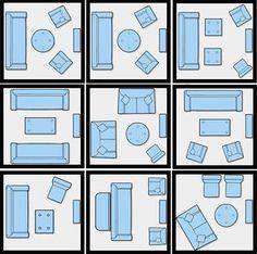 layouts de salas pequenas